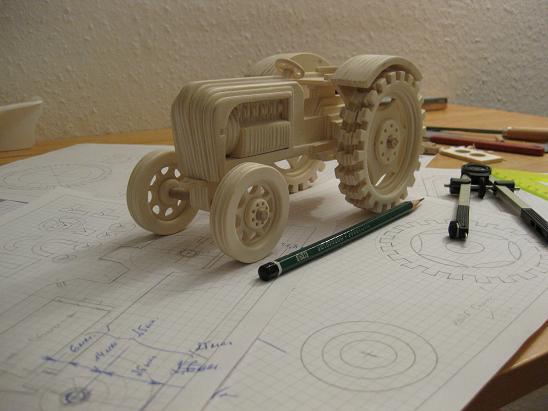 Chertezh podelki «Traktor»