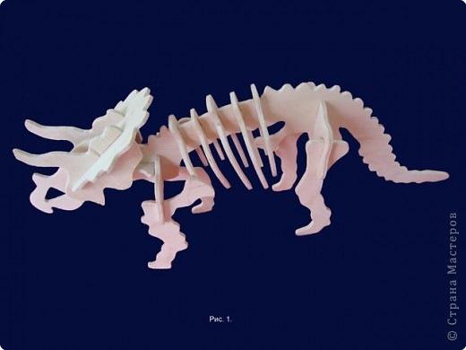 Chertezh podelki Dinozavr №21