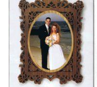 ramka dlya foto svadebnaya