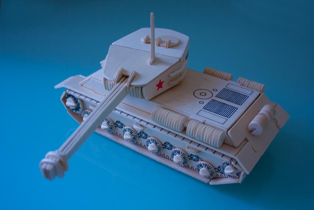 модель танка ис 2 из фанеры