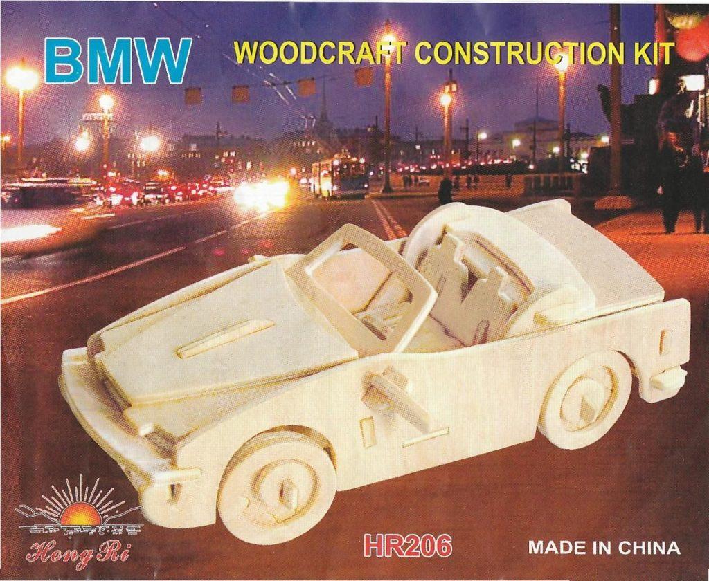 Chertezh podelki «Avtomobil' BMW»