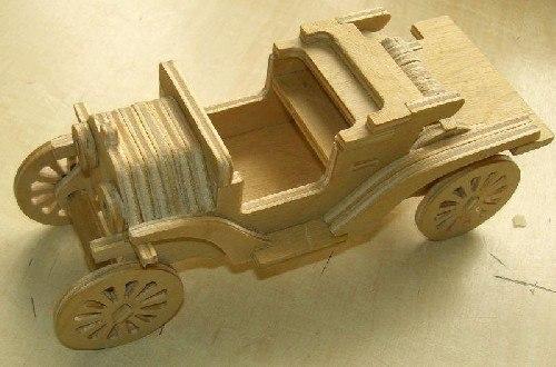 Chertezh podelki «Avtomobil' Ford-T»