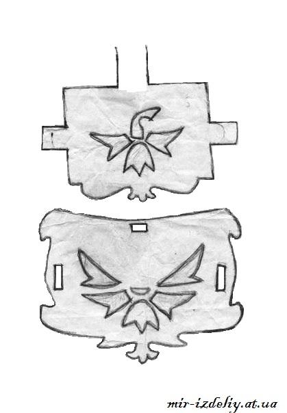 Chertezh podelki «Loshadi s karetoj»3