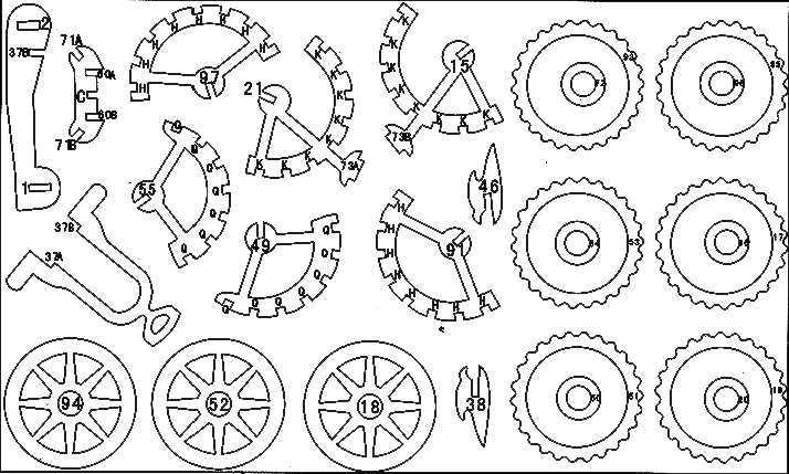Chertezh podelki «Motocikl s ljul'koj»03