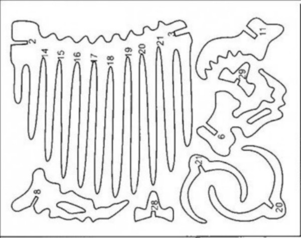 Chertezh podelki dinozavr-jashher1