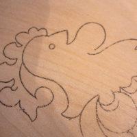 как нанести рисунок на фанеру