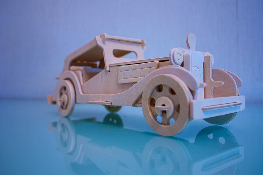ретро автомобиль изометрия