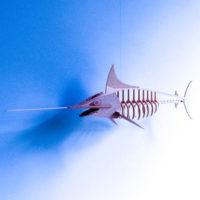 рыба меч из фанеры